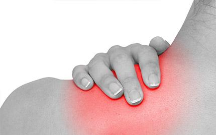 pijn nek schouders bovenarm